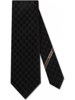 Krawat z wzorem włoski Gucci