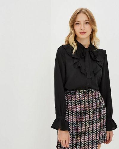 Блузка с рюшами черная Art Love