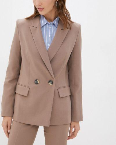 Бежевый пиджак осенний Shartrez