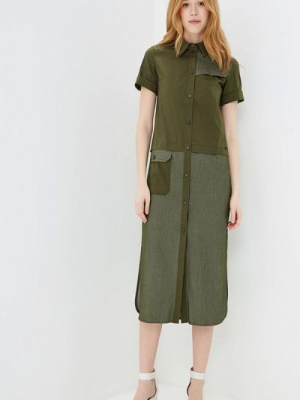 Платье - зеленое Ricamare