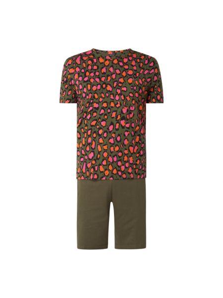 Piżama bawełniana - zielona Hom