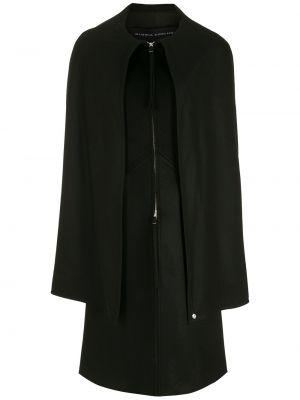 Длинное пальто - черное Gloria Coelho
