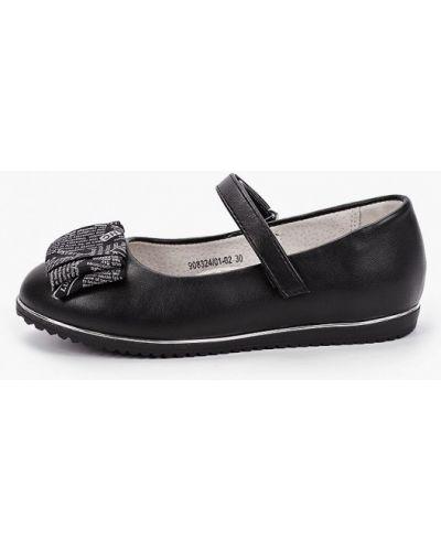 Кожаные черные туфли Betsy