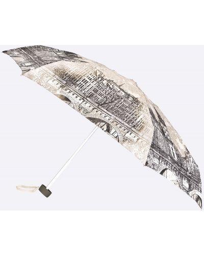 Зонт серый металлический Zest