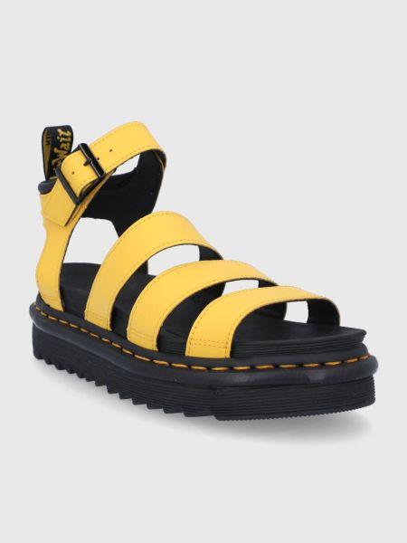 Кожаные сандалии Dr. Martens