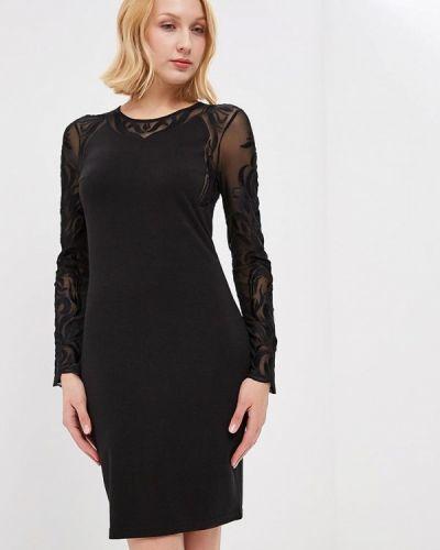 Черное платье с длинными рукавами Silvian Heach