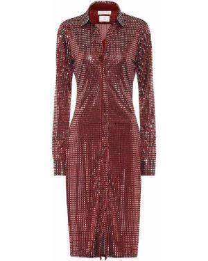 Платье миди платье-майка платье-рубашка Bottega Veneta