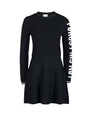 Повседневное платье черное Valentino Red