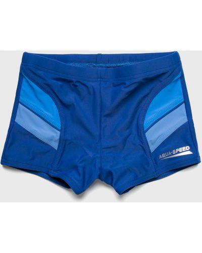 Плавки с узором синие Aqua Speed