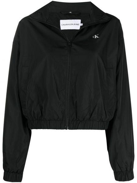 Куртка с капюшоном - черная Ck Calvin Klein