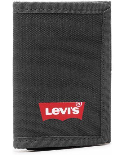 Czarny portfel Levi's