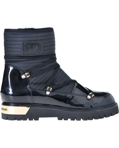 Ботинки на каблуке осенние кожаные Loretta Pettinari