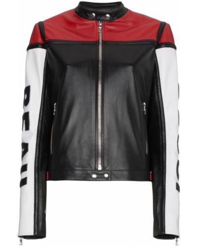 Черная кожаная куртка Beau Souci