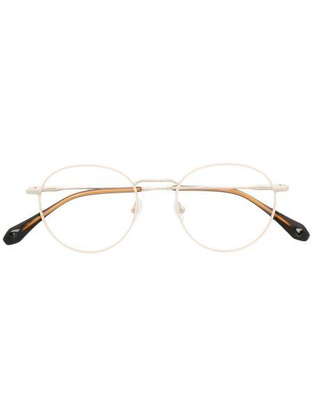 Złote okulary kwarc Gigi Studios