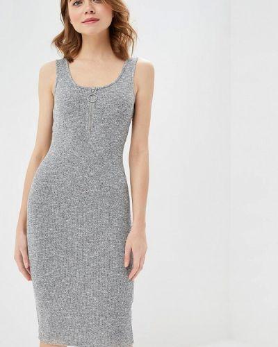 Платье серое платье-майка Modis
