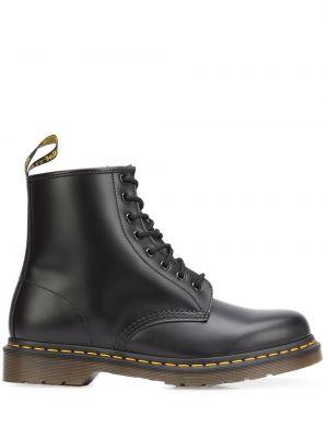 Кожаные ботинки - черные Dr. Martens