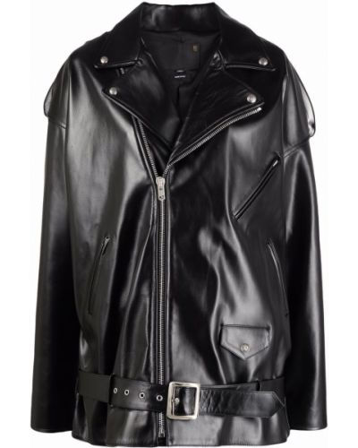 Черная куртка оверсайз R13