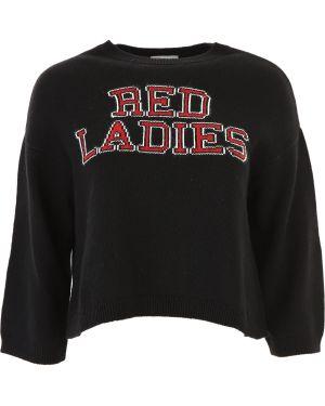 Sweter z angory czarny Valentino
