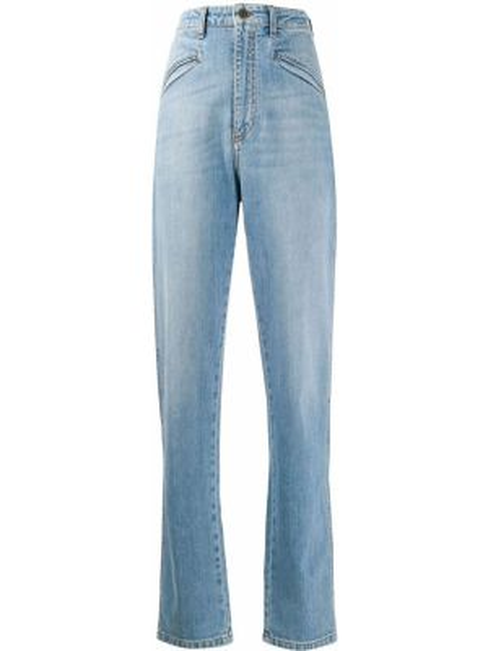 Прямые джинсы синие с карманами Philosophy Di Lorenzo Serafini