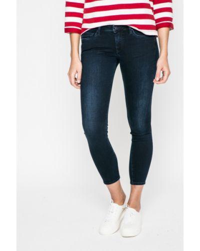 Джинсы-скинни с эффектом потертости Pepe Jeans