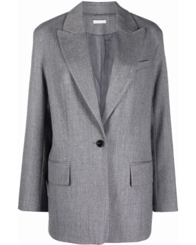 Пиджак оверсайз - серый 12 Storeez