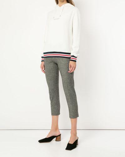 Укороченные брюки с карманами серые Loveless