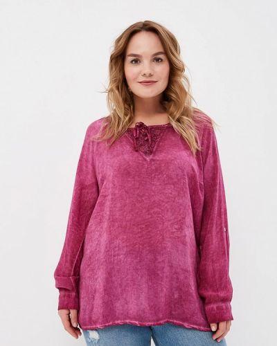 Розовая блузка Ulla Popken