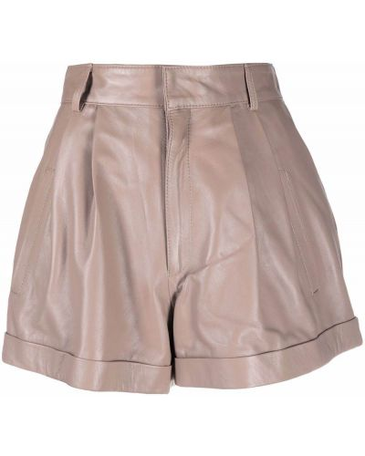 Кожаные шорты Manokhi