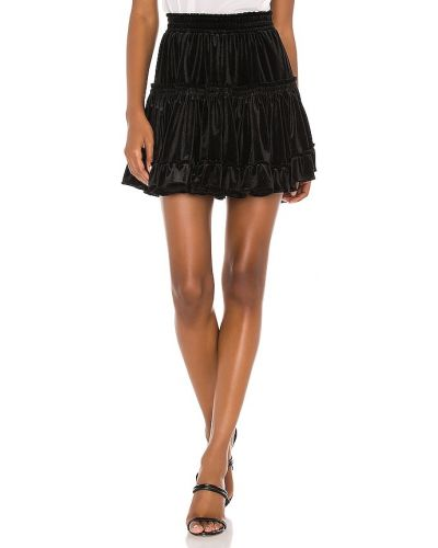 Бархатная черная юбка Misa Los Angeles
