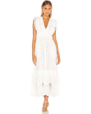 Ciepły sukienka z wiskozy miejski Ulla Johnson