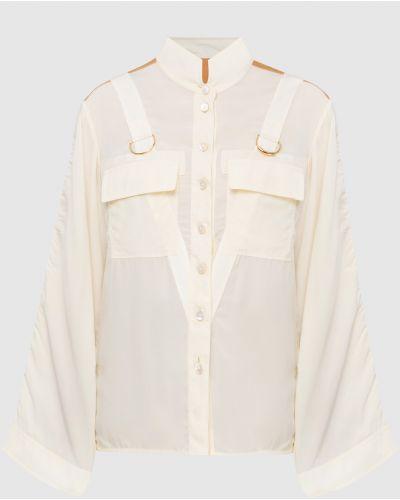 Бежевая блузка Chloé