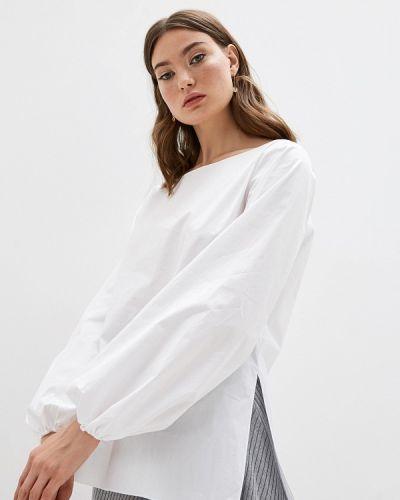 Блузка с длинным рукавом белая Theory