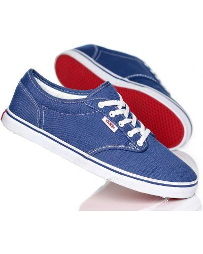 Niebieski buty zasznurować Vans