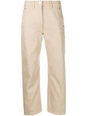 Джинсовые прямые джинсы - бежевые Lemaire
