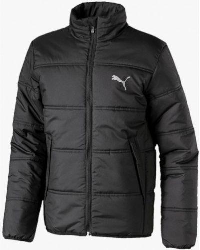 Куртка теплая черная Puma