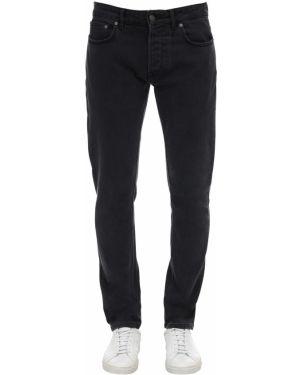 Czarne jeansy z paskiem Htc Los Angeles
