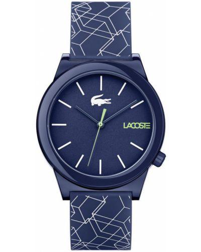 Часы водонепроницаемые темно-синий универсальный Lacoste