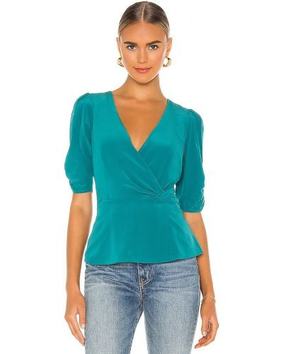 Деловая блузка - зеленая Parker