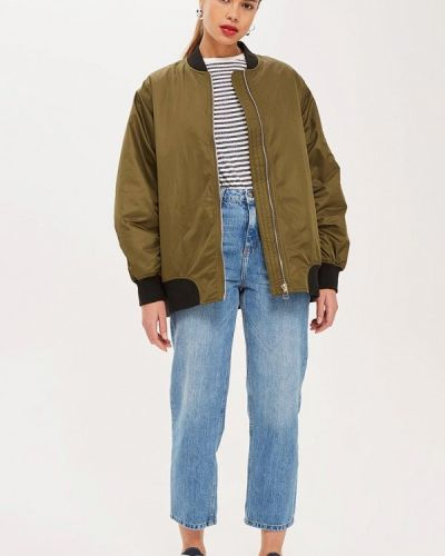 Утепленная куртка осенняя Topshop