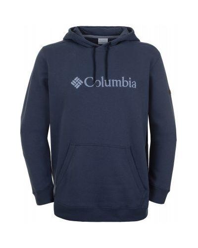 Синий джемпер с капюшоном Columbia