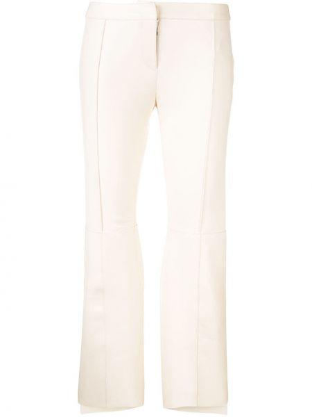 Укороченные брюки расклешенные Alexander Mcqueen