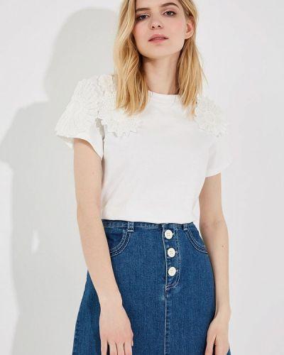Белая футболка See By Chloe
