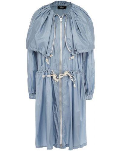 Голубой плащ свободный Calvin Klein 205w39nyc