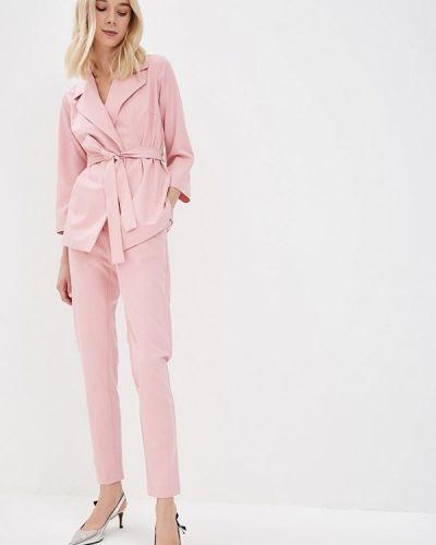 Брючный костюм розовый Sartori Dodici