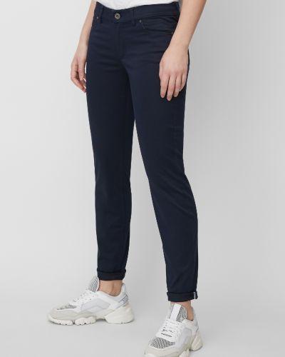 Классические синие зауженные классические брюки Marc O' Polo