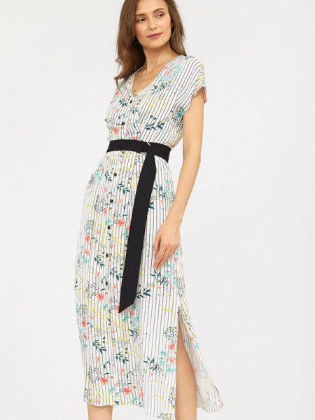 Платье с запахом весеннее Calista