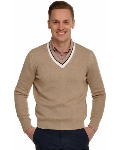 Бежевый пуловер Ermenegildo Zegna