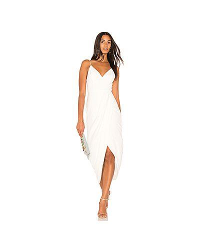 Коктейльное платье с запахом с драпировкой Shona Joy