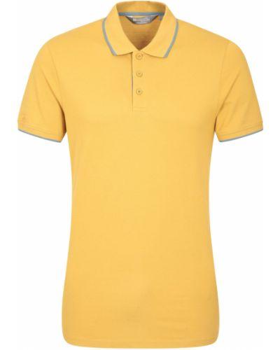 Żółty t-shirt Mountain Warehouse