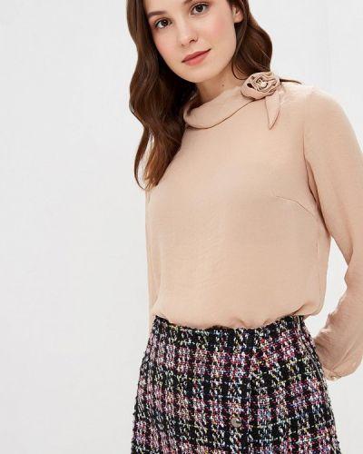 Блузка с длинным рукавом весенний бежевый Grafinia